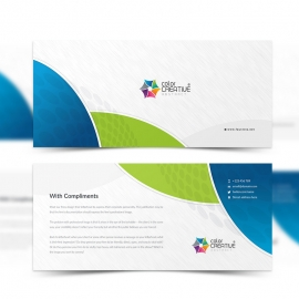 Corporare Clean Compliment Card