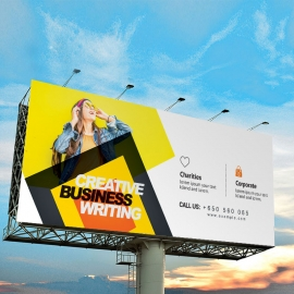 Corporate Billboard Banner Sinage