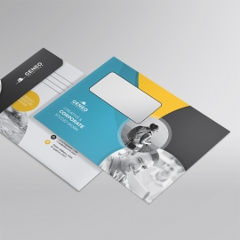 Corporate Business  B5_Envelope With Cricle