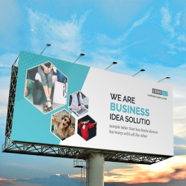 Corporate Business Billboard Sinage