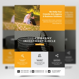 Corporate Business Boxs Flyer