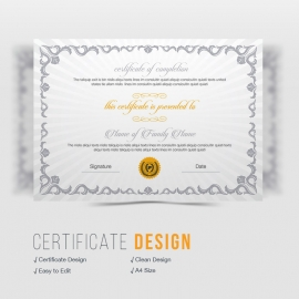 Corporate Business Certificate