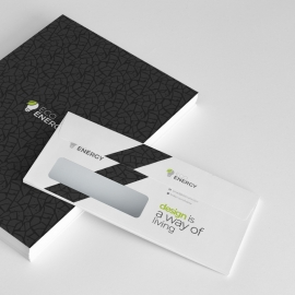 Corporate Business Commerial Envelope