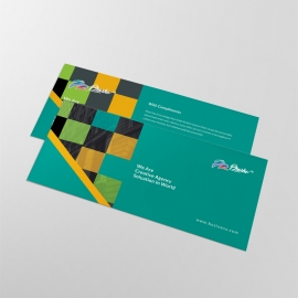 Corporate Business Compliment Card