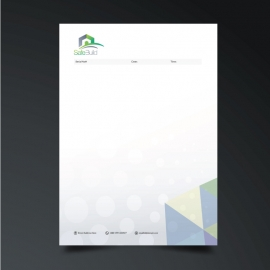 Corporate Business Fax Paper