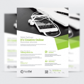 Corporate Business Flyer Product sheet