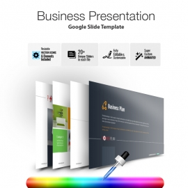 Corporate Business Google Slide Presentation Template