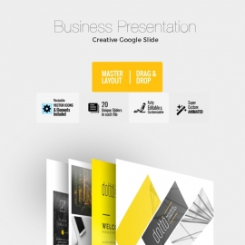Corporate Business Google Slide Template