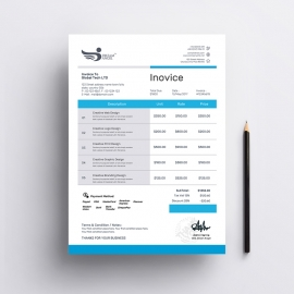 Corporate Business Invoice