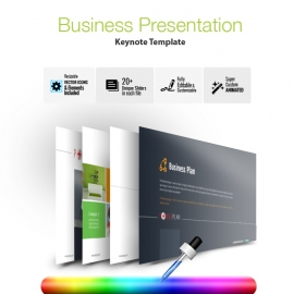 Corporate Business Keynote Presentation Template