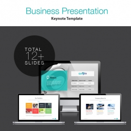 Corporate Business Keynote Template