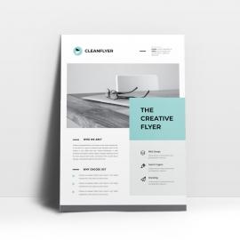 Corporate Business Multipurpose Simple Flyer