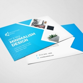 Corporate Business Post Card