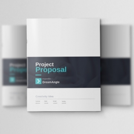 Corporate Business Project Proposal Template
