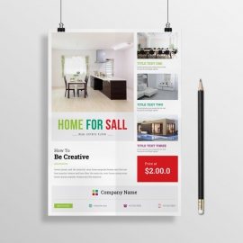 Corporate Business Real Estate Flyer