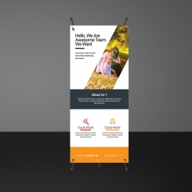 Corporate Business Rollup Banners Template