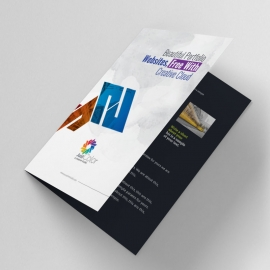 Corporate Clean Bifold Brochure