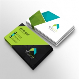 Corporate Clean Business Card Design