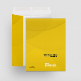 Corporate Clean Catalog Envelope