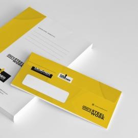 Corporate Clean Commerial Envelope