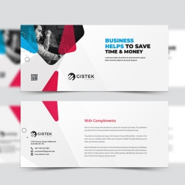 Corporate Clean Compliment Card Template