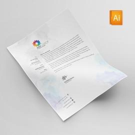 Corporate Clean Cover & Letterhead