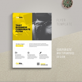 Corporate Clean Flyer Template