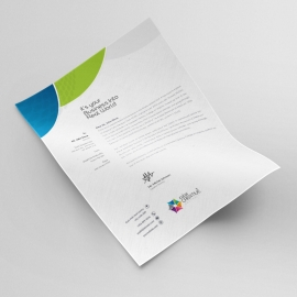 Corporate Clean Letterhead