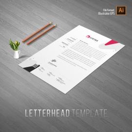 Corporate Clean Letterhead Template