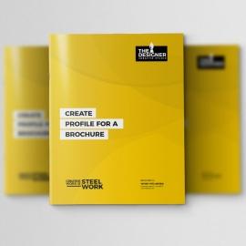 Corporate Clean Profile Brochure Design