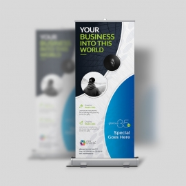 Corporate Clean Rollup-Banner