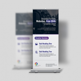 Corporate Clean Rollup Banner