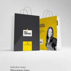 Corporate Clean Shopping Bag