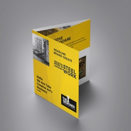 Corporate Clean Squre Trifold Brochure