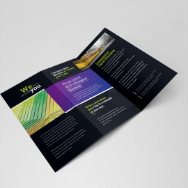 Corporate Clean Trifold Brochure