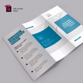 Corporate Clean Trifold Brochure Temolate
