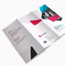 Corporate Clean Trifold Brochure Template