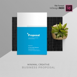 Corporate Creative Project Proposal Template