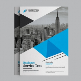 Corporate Cyan Business Flyer