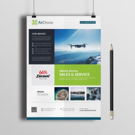 Corporate Drone Flyer