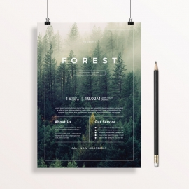 Corporate Forest Flyer