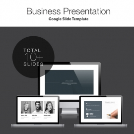 Corporate Google Slide Presentation Template