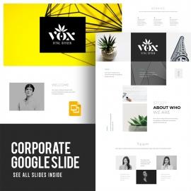 Corporate Google Slide Template