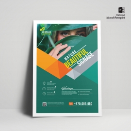 Corporate Green Flyer Design