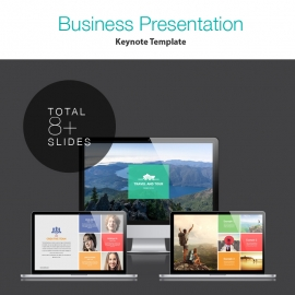 Corporate Keynote Presentation Template
