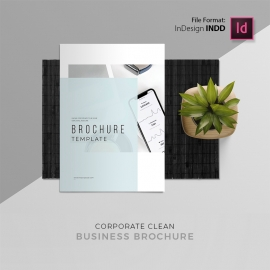 Corporate Minimal Brochure Template