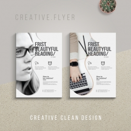 Corporate Minimal Flyer Design