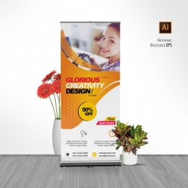 Corporate Modern Rollup Banner
