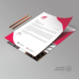 Corporate Professional Letterhead