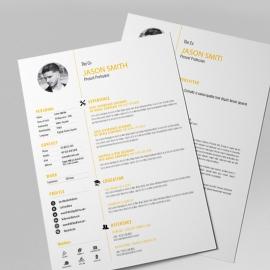 Corporate Resume & CV Design